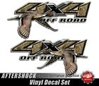 Duck Hunting Camo Sticker 4x4 Truck Northern Pintail Decal