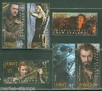 NEW ZEALAND  HOBBIT  2013 THE DESOLTAION OF SMAUG SET OF SIX STAMPS  MINT NH