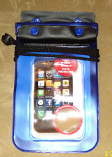 Waterproof Accessory Pouch With Neckstrap Out There Keys Phone Camera Money mp3!