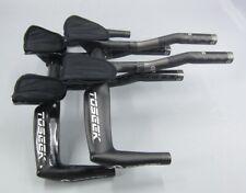 Carbon Road Bike TT base Bullhorn Bar Triathlon Handlebar Aerobar set 400-440mm