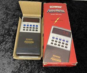 Vintage Schwinn Pulse Meter Model SPM 200 Tested