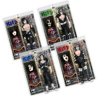 KISS 8 Inch Action Figures Alive Re-Issue Series: Set of all 4