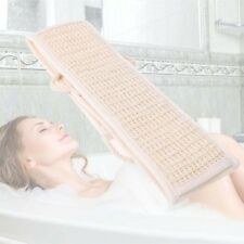 Exfoliating Loofah Loofa Back Strap Bath Shower Body Sponge Scrubber Brush E