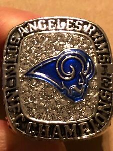 2018 TODD GURLEY COMMEMORATIVE CHAMPIONSHIP RING RAMS SIZE 11.5