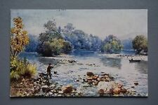 R&L Postcard: Scotland Inverness, The Islands, Tuck Bonnie Scotland, Fishing