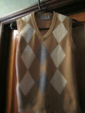 Jaeger slipover jumper lambswool   worn once or twice  34 bust. Retro