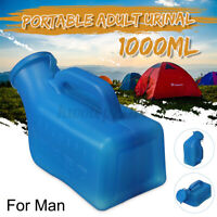 1000ml Male Portable Urinal Bottle Pee Toilet For Car Travel Camping Journey