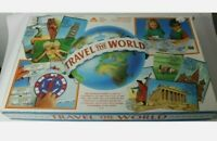 Vintage ELC Travel the world Board game Strategy Geography pairs game