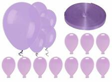 All in one bundle - Lavender  - set of 25 balloons & weights + 50m ribbon