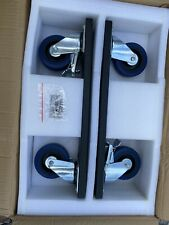 "FANE INTERNATIONAL 2 X 15"" Subwoofer CASTERS Wheelboard Brand New"