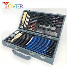 New Listing60-pcs Professional Sketching Drawing kit pastel Pencil Art Sketch Supplies Set