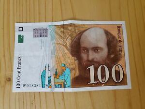 Billet de 100 Francs - Paul Cézanne 1997