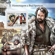 Mozambique - Postfris/MNH - Sheet Bud Spencer 2016