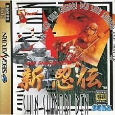 Sega Saturn Shin Shinobi Den Japan SS