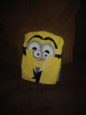 kids hooded towel minions NEW