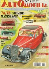 AUTOMOBILIA 1 CITROEN TRACTION 7A 7B SIMCA 1000 SACHA GORDINE CHENARD & WALKER