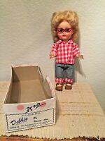 """Vintage Nancy Ann Storybook Doll 802 Undocumented Walker Debbie 10"""" Box Included"""