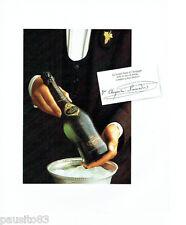 PUBLICITE ADVERTISING 096  1980   le champagne  Veuve Cliquot Ponsardin