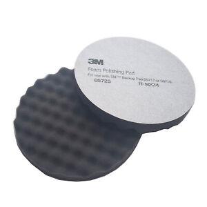 3M 05725 Foam Polishing Pad, 8 in, (2 Pads in )