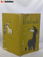 Rosalinda Helen Wing 1952 Rand McNally 1st Edition childrens book Dust Jacket