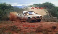 Johnny Hellier Peugeot 504 Pick Up V6 Safari Rally 1983 Photograph 1