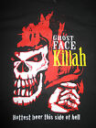 """GHOST FACE Killah """"Hottest beer this side of hell"""" (LG) T-Shirt WU-TANG CLAN"""