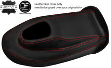 RED STITCH LEATHER GEAR BOX COVER PANEL LEATHER COVER FITS JAGUAR E TYPE S2