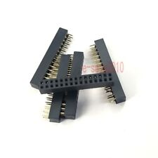10pcs Pitch 2mm 2x15 30 Pin Female Double Row Straight PCB Header Strip 2.0mm
