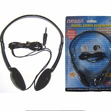 Omega 10023 HP-23 Digital Stereo Headphone for Digital CD/MD Players NEW