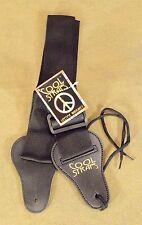 Cool Straps Poly-Weave Guitar Strap Acoustic or Electric New Black