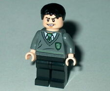 HARRY POTTER #69 Lego Marcus Flint Slytherin Stripe and Shield Outfit Custom NEW
