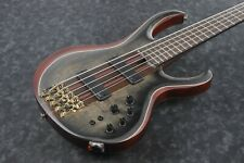 E-Bass IBANEZ BTB Premium BTB1905SM-SKB 5 String Surreal Black Burst Flat + Bag