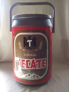 Tecate beer can cooler