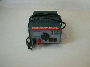 Radio Shack 12 Volt Power Supply 22-504 120VAC 13.8VDC 3 AMP