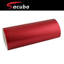 1.5M x 3M Matt Red Chrome Car Vinyl Wrap Air Bubble Free Sticker Film