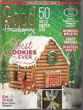 Good Housekeeping December 2014 Best Cookies Ever/Whimsical Wreaths/Crafts