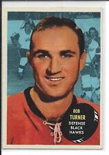 1961-62 Topps Bob Turner #41 Hawks - no crease