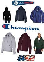 Champion - MEMS  Double Dry Eco Full-Zip Hooded Sweatshirt - S800