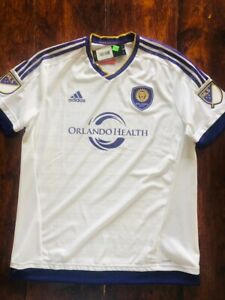 Adidas Adizero Orlando City SC Soccer Away Authentic Jersey S00407 PLAYER ISSUE