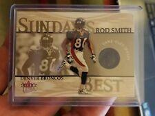 2001 Ultra Sunday's Best #24 Rod Smith Jersey