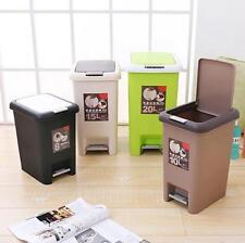 GS 8/10/15/20L Treteimer Mülleimer Abfalleimer Abfallsammler Müllsammler Beige