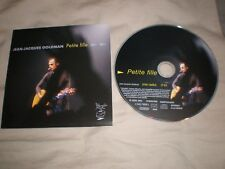 cd single promo jean jacques goldman petite fille