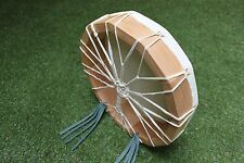 "12""Cow Rawhide Drum. Shaman, Pagan, Native American Inspired Drum"