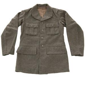 Alte Schwedische Armee Feldjacke M39 Wolle Wolljacke Wollfilz Waffenrock Vintage