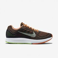 Nike Air Zoom Structure 18 Men's Size 11 Orange Lime 683731-801 Running Shoes