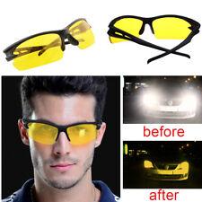Nachtfahrbrille Kontrast Brille Night Vision Autofahrer Nachtsichtbrille Etui DE