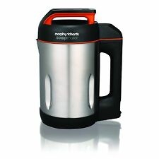 Morphy Richards Soup Maker with Serrator Blade Brushed Stainless Steel