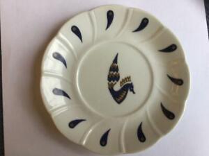Air France Concorde Jean Picart Le Doux Last Design Small Pocelain Plate Rare