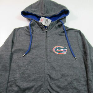 NWT Florida Gators Hoodie Sweatshirt Full Zip Polyester NCAA WOMENS MEDIUM