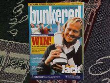 BUNKERED OPEN 2005 ST ANDREWS MAGAZINE - HAND SIGNED BY LUKE DONALD